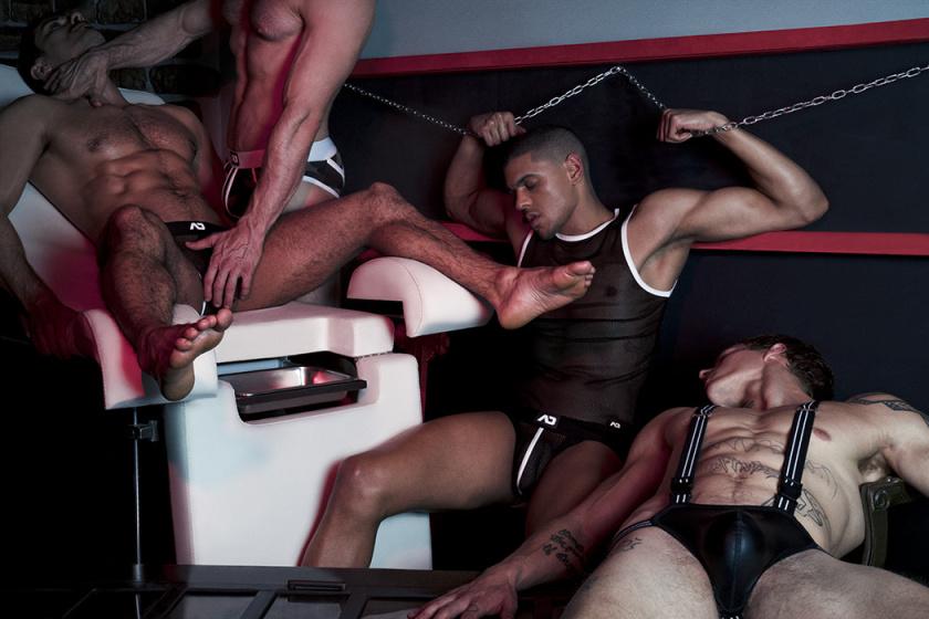 Alec Nysten, Davide Zongoli, Jonathan Bravo and Caio Veyron X Leonardo Corredor X AD Fetish X YUP MAGAZINE