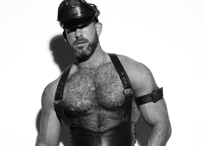 PATRICK CROUGH AND PAUL X MARCO OVANDO X BIG LEATHER COLLECTION X YUP MAGAZINE