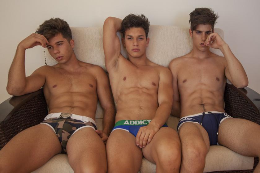 Dani Ospina, Alejandro Lillo and Álvaro Antoli X Jose Martínez X YUP MAGAZINE