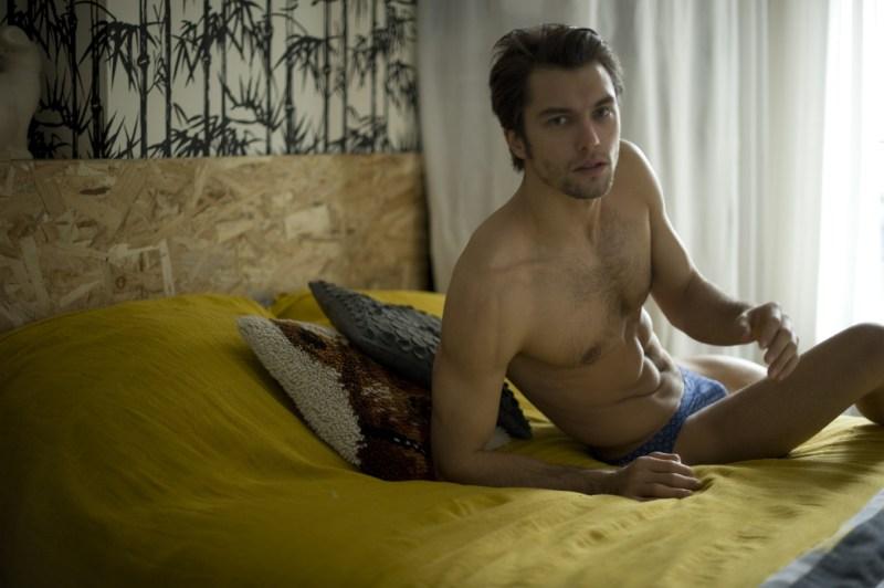 Lucas Garcez X Nicolas Aristidou X  Un Homme Un Slip X YUP MAGAZINE