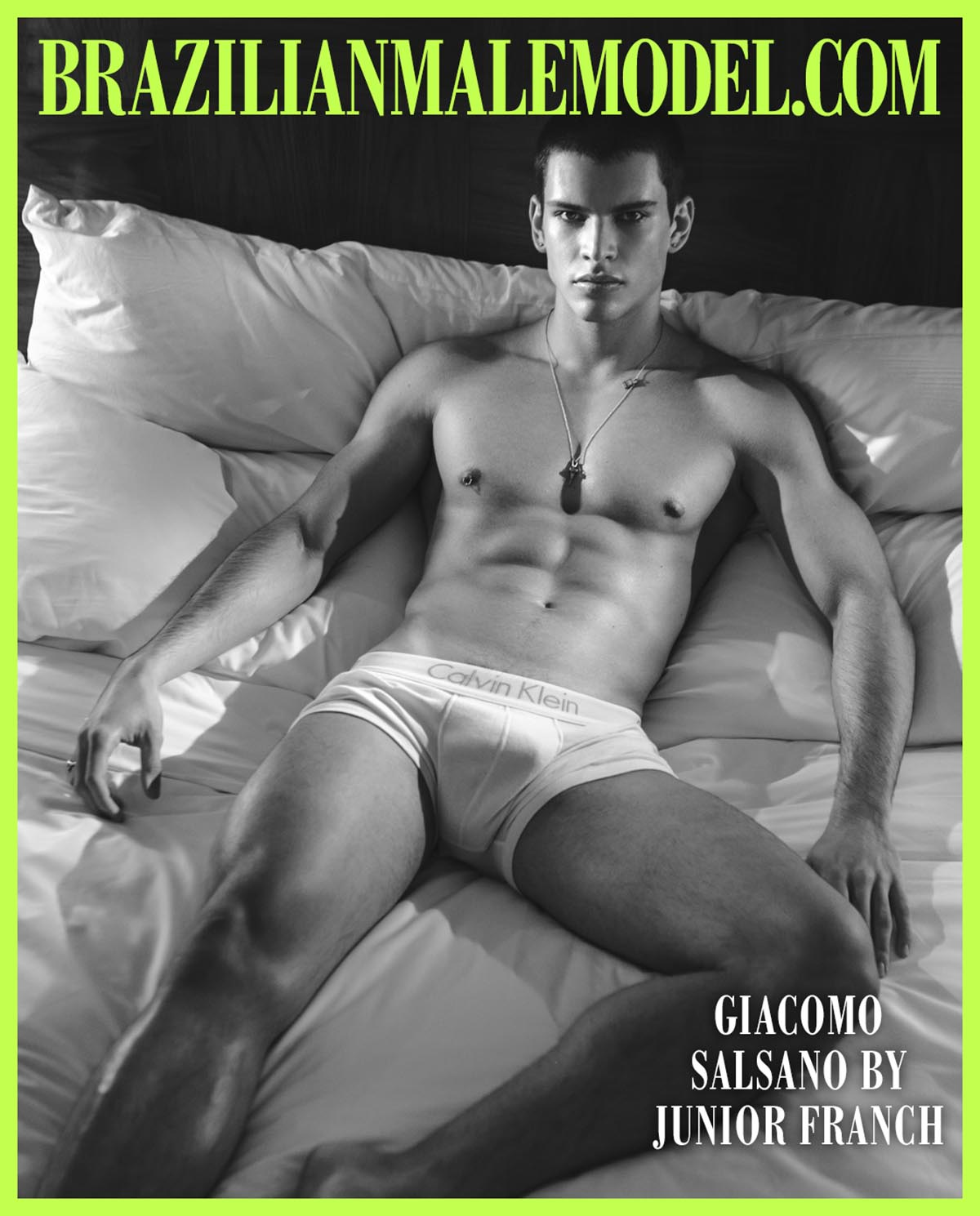 Giacomo Salsano X Junior Franch X Brazilian Male Model X YUP MAGAZINE
